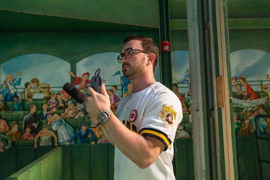 Andrew Bevevino was the 2015 digital strategy intern in the Frank and Peggy Steele Internship Program at the National Baseball Hall of Fame and Museum. (Parker Fish / National Baseball Hall of Fame Library)