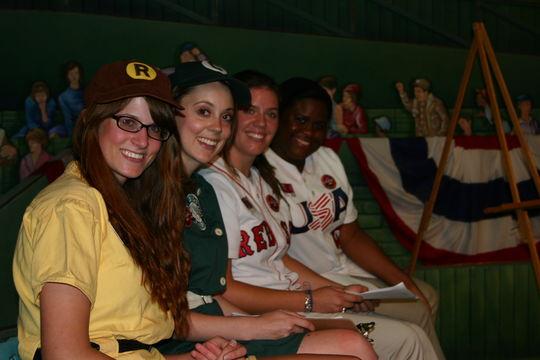 Interns at All-Star Game Gala (Milo Stewart Jr. / National Baseball Hall of Fame)
