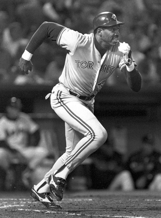 Dave Winfield's 11th-inning double in Game 6 of the 1992 World Series propelled the Blue Jays to the title. (National Baseball Hall of Fame and Museum)