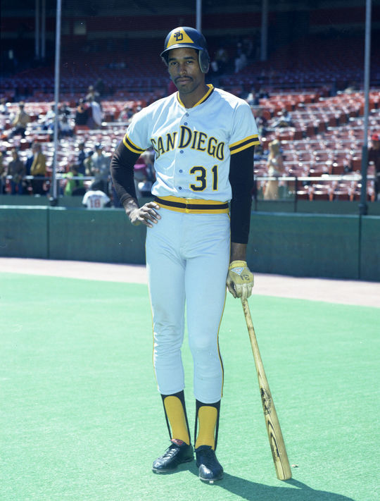 Dave Winfield debuted in the big leagues for the Padres in 1973 without having ever played a game in the minor leagues. Winfield was elected to the Hall of Fame in 2001. (Doug McWilliams/National Baseball Hall of Fame and Museum)