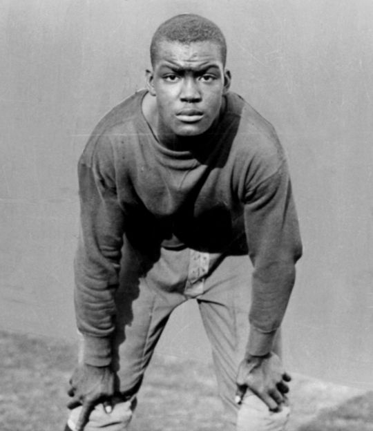 Monte Irvin played four sports as a high schooler in Orange, N.J., and may have been one of the very best amateur athletes in New Jersey history. BL-13-2008-26 (Larry Hogan / National Baseball Hall of Fame Library)