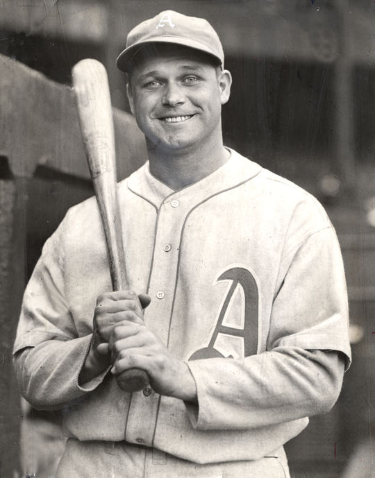 In Jimmie Foxx's 20-year career, he brought home three Most Valuable Player Awards and was a nine-time All-Star. (National Baseball Hall of Fame and Museum)