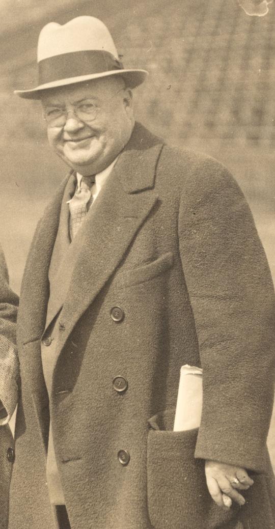 1974 J.G. Taylor Spink Award Winner James Isaminger (National Baseball Hall of Fame Library)