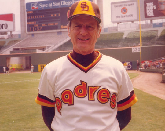 2005 Ford C. Frick Award Winner Jerry Coleman (National Baseball Hall of Fame Library)