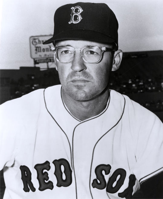 Red Sox manager Eddie Kasko (pictured above) made Gerry Moses his starting catcher in 1970, and Moses responded with his best season in the big leagues. (National Baseball Hall of Fame and Museum)
