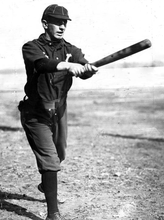 "Arguably the best place-hitter of his era, Luke Appling was often linked to fellow Hall of Famer Willie Keeler (pictured above), who could ""hit 'em where they ain't."" (National Baseball Hall of Fame and Museum)"