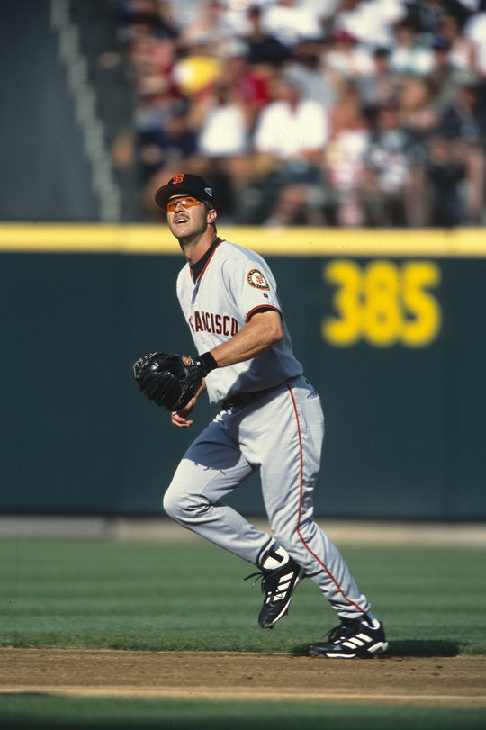 Jeff Kent's 351 home runs as a second baseman are most ever at the position. (Brad Mangin/National Baseball Hall of Fame and Museum)