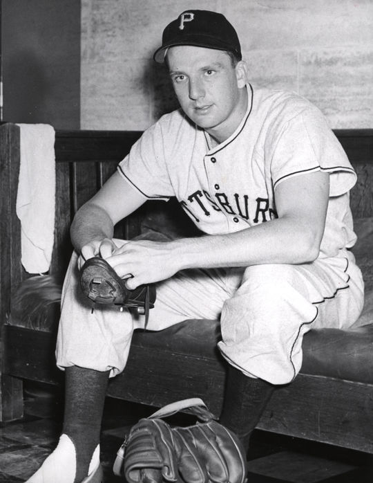 Ralph Kiner was voted into the Hall of Fame in 1975. He finished his 10-year career with 369 home runs and .279 batting average. (National Baseball Hall of Fame and Museum)