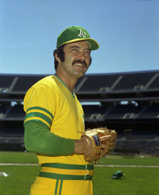 With Hall of Famer Rollie Fingers, Bob Locker and Darold Knowles (pictured above), the 1972 Oakland A's had one of the best bullpens in baseball. (Doug McWilliams / National Baseball Hall of Fame and Museum)