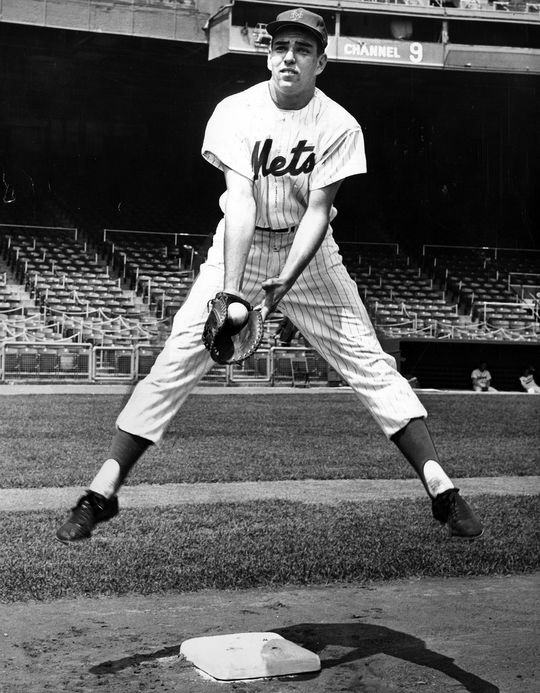 Ed Kranepool was a New York Met for his entire MLB career, from the team's first season in 1962 to his final season in 1979.  (National Baseball Hall of Fame)