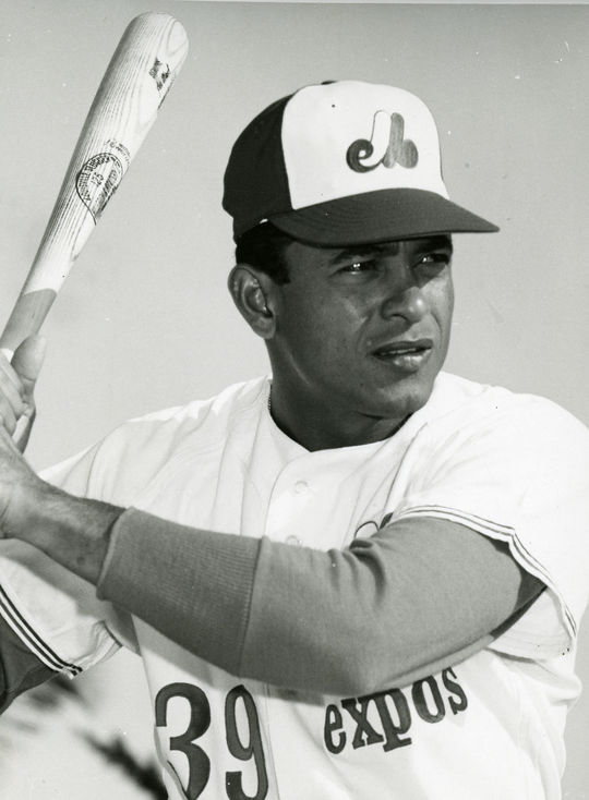 "The Expos selected Jose ""Coco"" Laboy with the 54th pick of the expansion draft after the 1968 season. (National Baseball Hall of Fame and Museum)"