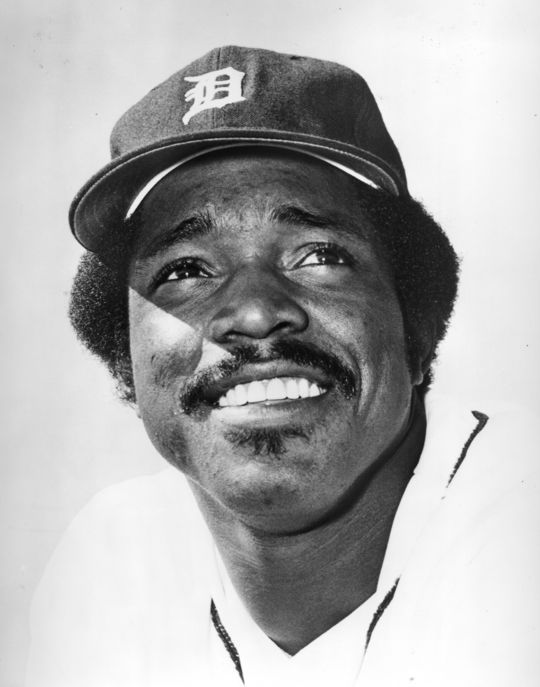 Ron LeFlore started playing baseball during his time in the State Prison of Southern Michigan, and ended up signing a contract with the Detroit Tigers as soon as he was released in 1973. (National Baseball Hall of Fame)