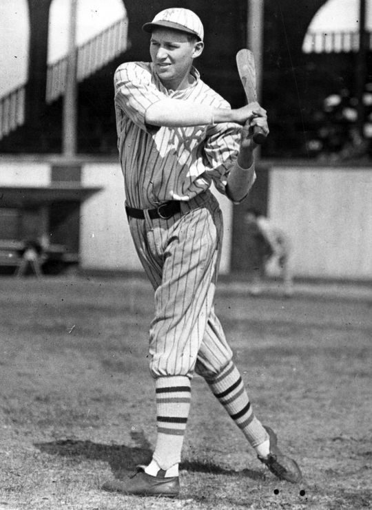 Freddie Lindstrom batted .311 over his 13 seasons in the major leagues. (National Baseball Hall of Fame and Museum)