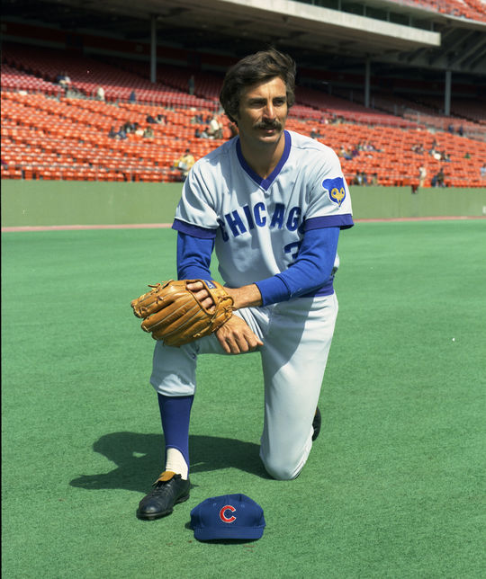 Bob Locker played on the Chicago Cubs in 1973 and 1975. (Doug McWilliams / National Baseball Hall of Fame and Museum)