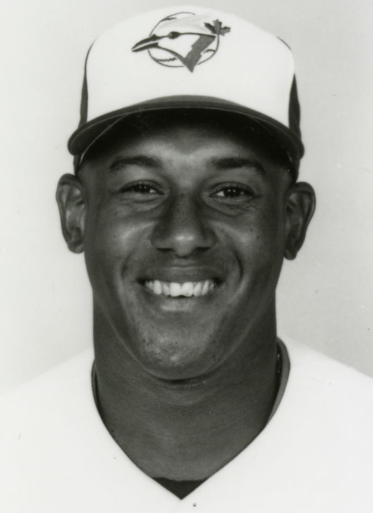 As the Blue Jays' regular left fielder in 1992, Candy Maldonado hit 20 home runs and helped power Toronto to the World Series title. (National Baseball Hall of Fame and Museum)