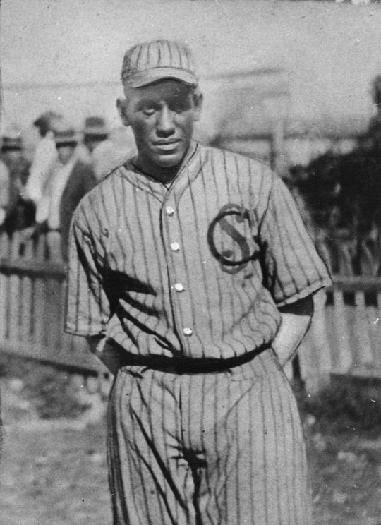 Oliver Marcelle when he was playing for the Leopardos de Santa Clara in the Cuban winter league.  Marcell-Oliver-6566.76_FL_PD  (National Baseball Hall of Fame and Museum)