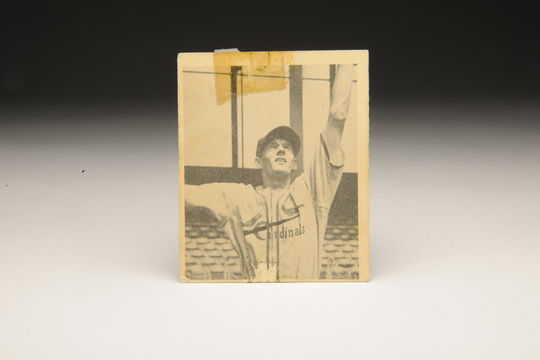 Marty Marion's Bowman Gum baseball card. B-29.87 (Milo Stewart, Jr. / National Baseball Hall of Fame)