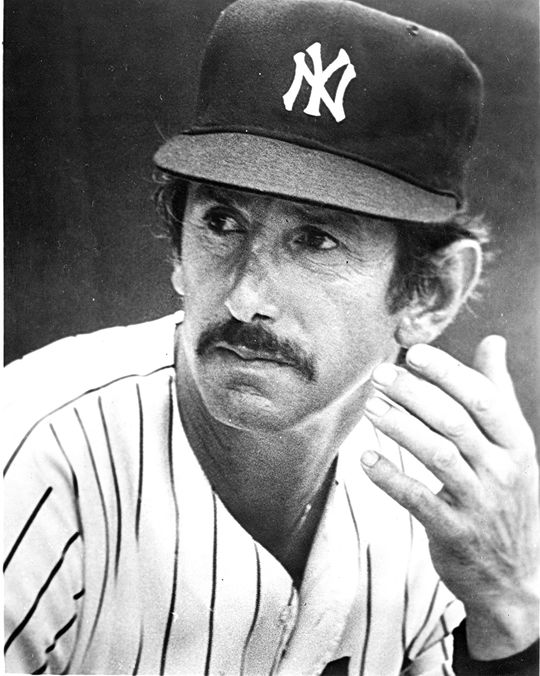 Billy Martin was the Yankees manager when Mike Pagliarulo was playing for New York in 1985. Martin used Pagliarulo as an everyday player, hitting against both right-handed and left-handed pitchers. (National Baseball Hall of Fame and Museum)