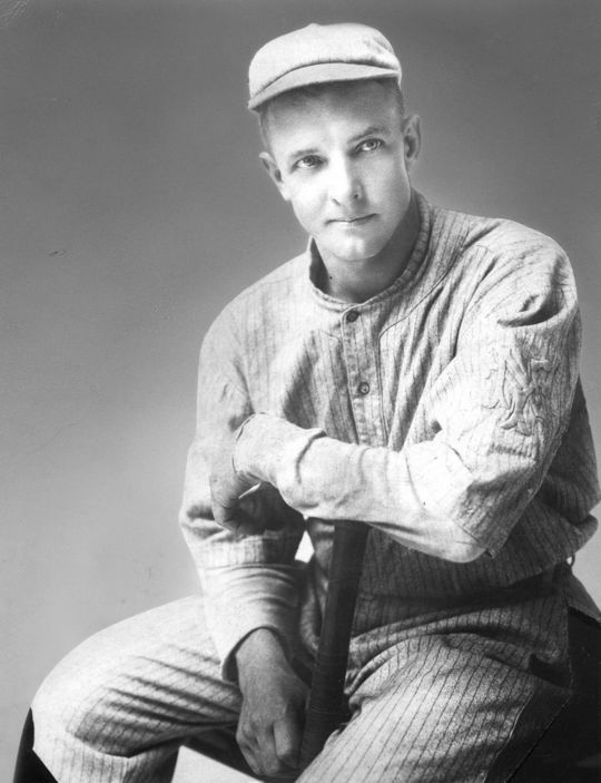"""One prison team, the Giants, boasted a pitcher known to history only as """"Black Matty"""" (an homage to the great right-hander Christy Mathewson, pictured above) who was a man who once won 15 straight games. (National Baseball Hall of Fame)"""