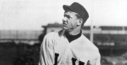 """Christy Mathewson was regarded as one of baseball's best pitchers when he """"retired"""" to become an insurance agent following the 1908 season. A flip book featuring Mathewson warming up was used as a promotional tool for Mathewson's new job, but Mathewson quickly returned to baseball. (National Baseball Hall of Fame and Museum)"""