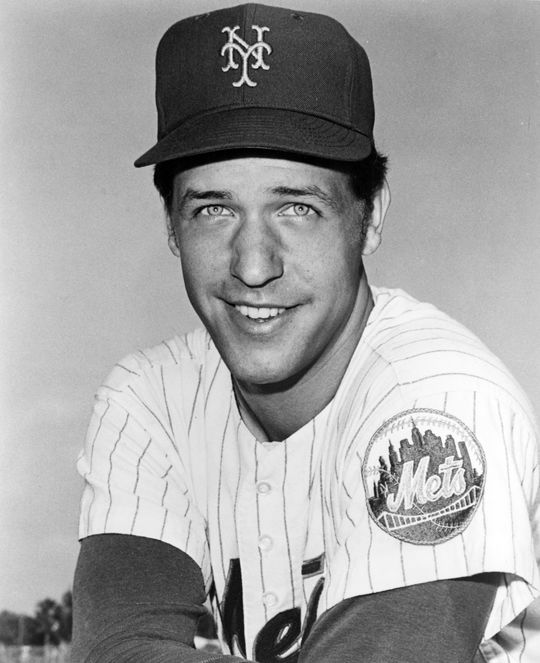 Jon Matlack won the 1972 National League Rookie of the Year Award during season where he surrendered the 3,000th hit to future Hall of Famer Roberto Clemente. BL-659-74 (National Baseball Hall of Fame Library)
