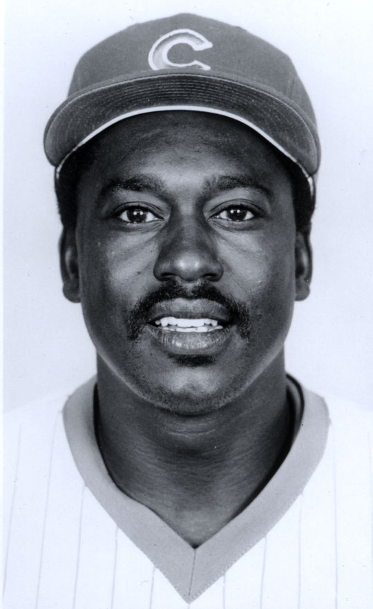 The Chicago Cubs acquired Gary Matthews, Porfi Altamirano and Bob Dernier from the Phillies for Bill Campbell and Mike Diaz in 1984. (National Baseball Hall of Fame and Museum)