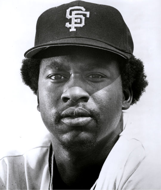 The Giants drafted Gary Matthews in the first round out of San Fernando High School in 1968. (National Baseball Hall of Fame and Museum)