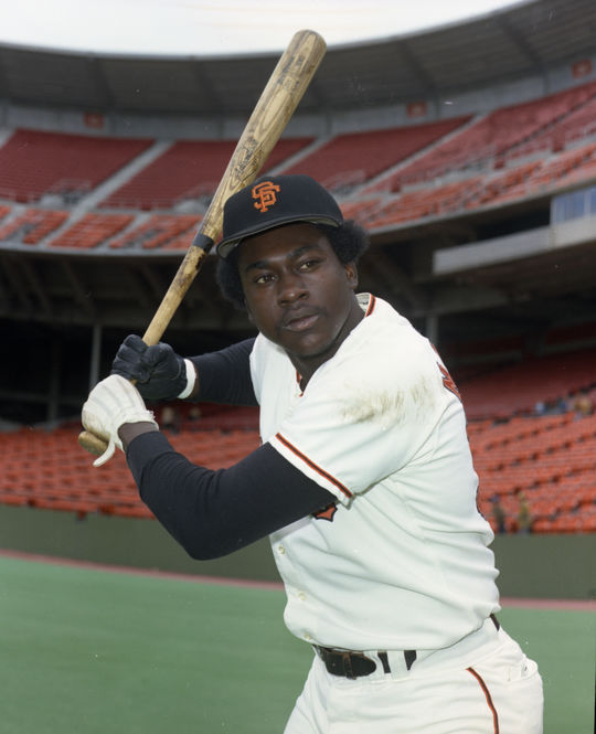 The Giants put Gary Matthews in their starting lineup in 1973 and the outfielder had a stellar season, ultimately earning National League Rookie of the Year honors. (Doug McWilliams/National Baseball Hall of Fame and Museum)