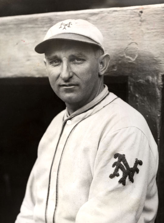 Just one year after hitting Ray Chapman with a pitch in the skull, Yankees' pitcher Carl Mays won an MLB-best 27 games in 1921. (National Baseball Hall of Fame and Museum)