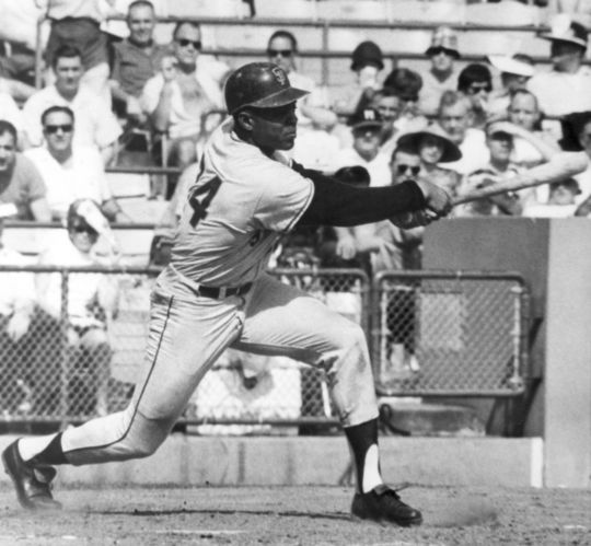 Willie Mays played in 24 All-Star Games throughout his Hall of Fame career, including 23 consecutive selections from 1954-1972. (National Baseball Hall of Fame and Museum)