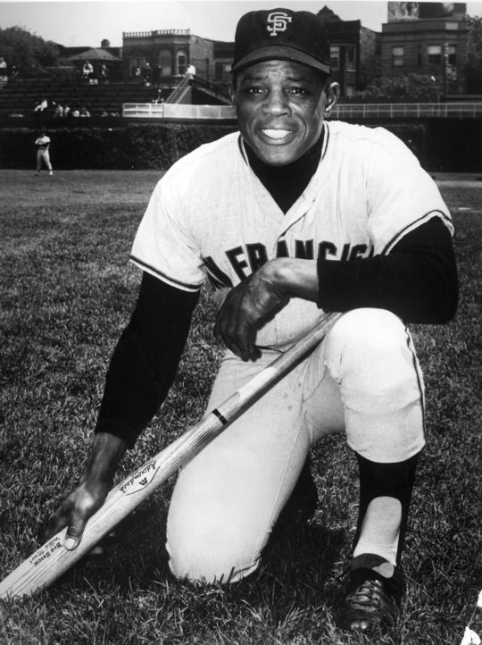 Willie Mays' fourth inning home run in the 1956 All-Star Game was one of four home runs hit in the game. (National Baseball Hall of Fame and Museum)