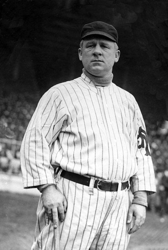 John McGraw in his New York Giant uniform. BL-70.55