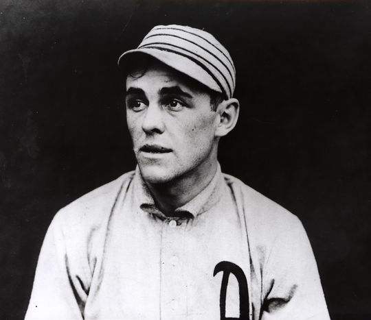 """Connie Mack methodically broke apart his first Philadelphia A's dynasty following the 1914 World Series. He traded Stuffy McInnis, the last piece of his famed """"$100,000 infield"""", prior to the 1918 season. (National Baseball Hall of Fame and Museum)"""