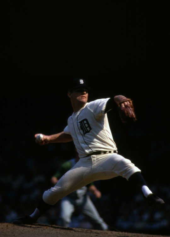 On Sept. 14, 1968, the Tigers' Denny McLain won his 30th game of the season, becoming the first 30-game winner in the big leagues since Dizzy Dean in 1934. (National Baseball Hall of Fame and Museum)