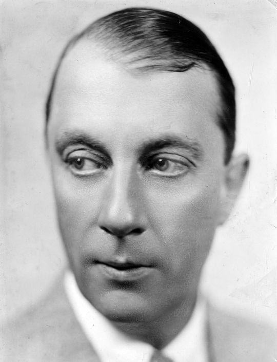 A young Graham McNamee became broadcasting's first color commentator in 1923. BL-58.61 (National Baseball Hall of Fame Library)