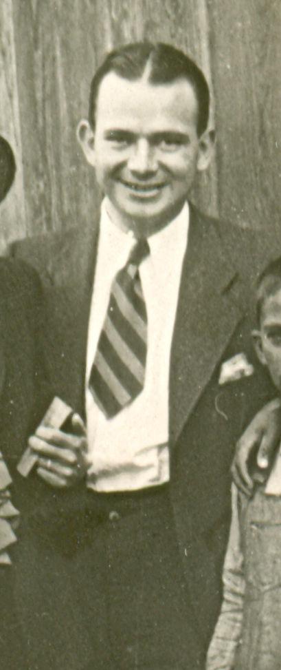 1975 J. G. Taylor Spink Award Winner Tom Meany - BL-429-65a (National Baseball Hall of Fame Library)