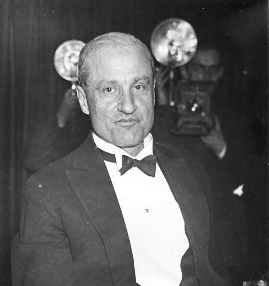 1969 J.G. Taylor Spink Award Winner Sid Mercer (National Baseball Hall of Fame Library)