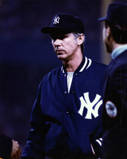 In 1982, Yankees manager Gene Michael, pictured above, moved Shane Rawley into the starting rotation, where Rawley's performance improved dramatically. (National Baseball Hall of Fame and Museum)
