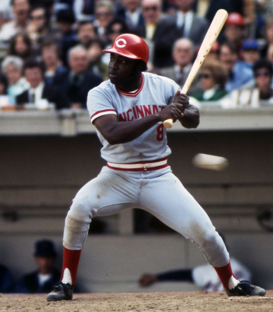 Joe Morgan led the Cincinnati Reds to back-to-back World Series titles in 1975 and 1976, winning the National League Most Valuable Player Award both seasons. (Richard Raphael/National Baseball Hall of Fame and Museum)
