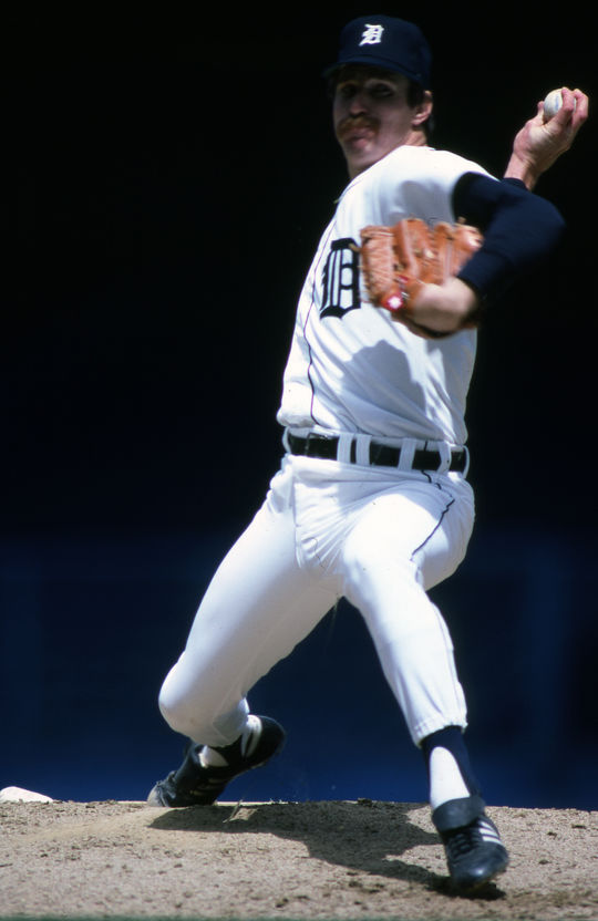 Jack Morris topped the 200-inning mark in 11 seasons and notched 175 complete games, the most of any pitcher whose career started after 1976.  (Rich Pilling/National Baseball Hall of Fame and Museum)