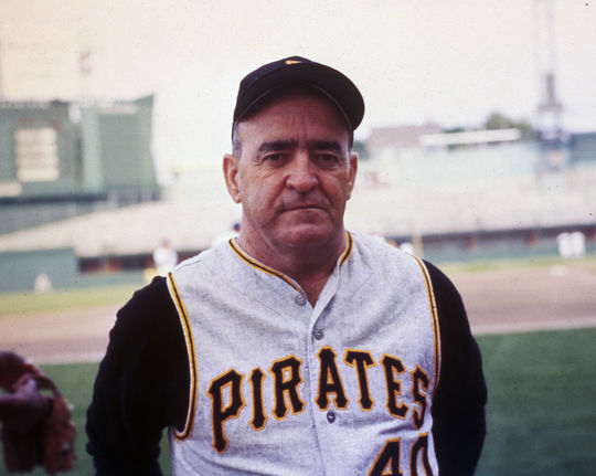 Among Clyde Sukeforth's contributions to the Pirates during his time as a scout included recommending Danny Murtaugh (pictured above) as manager of the team. Murtaugh would lead the Bucs to two pennants and two World Series titles. (National Baseball Hall of Fame and Museum)