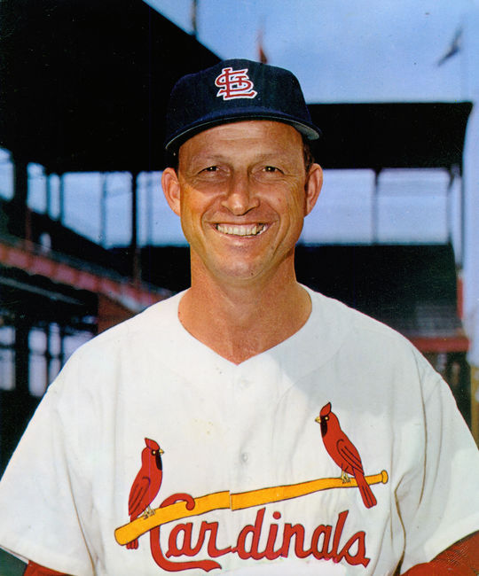 On June 12, 1957, Stan Musial set a National League record for consecutive game appearances. (National Baseball Hall of Fame and Museum)