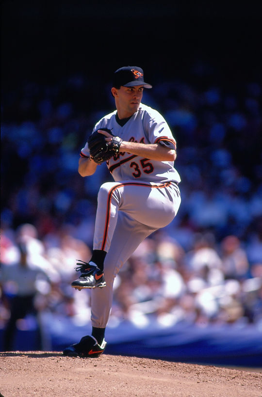 Mike Mussina won 270 games and was named to five All-Star Games in 18 big league seasons. (Michael Ponzini/National Baseball Hall of Fame and Museum)