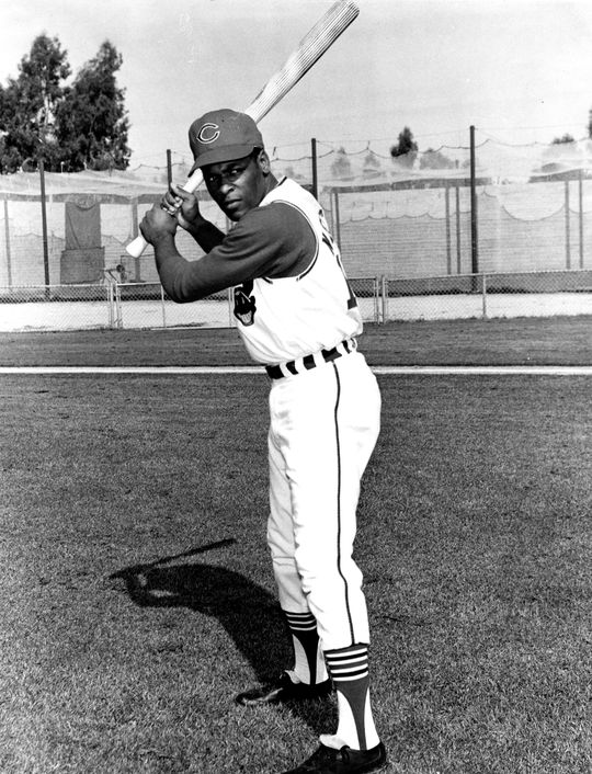 Dave Nelson played the first two seasons of his big league career with the Cleveland Indians in 1968 and 1969. (National Baseball Hall of Fame and Museum)