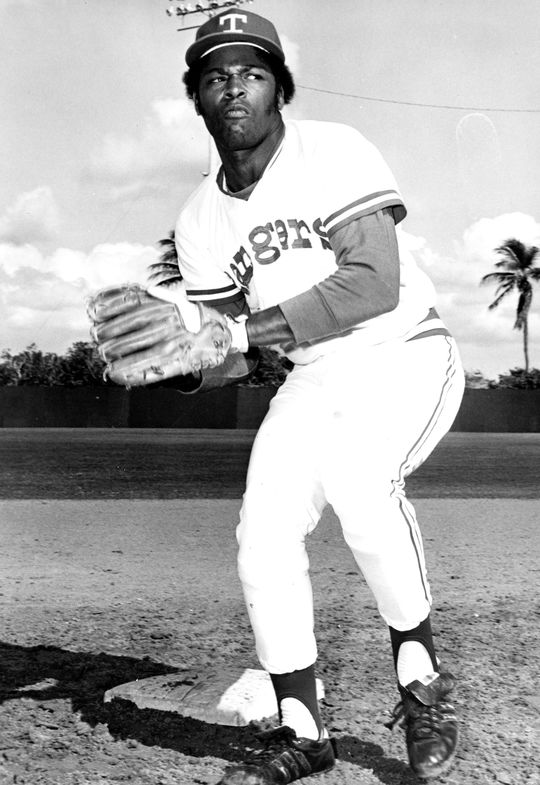 Dave Nelson became one of the American League's best base stealers during his four seasons with the Rangers in Texas and earned a spot on the AL All-Star team in 1973. (National Baseball Hall of Fame and Museum)