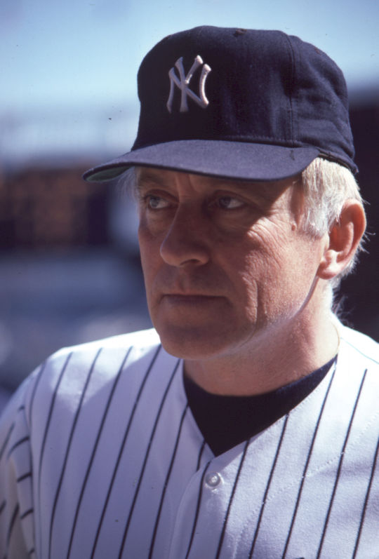 In his first season with the New York Yankees in 1984, Phil Niekro earned his 3,000th strikeout, and went 16-8. (National Baseball Hall of Fame and Museum)