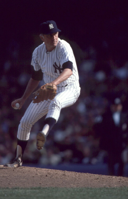 Phil Niekro played for the New York Yankees for two seasons (1984-1985). (National Baseball Hall of Fame and Museum)