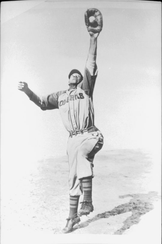 When Billy Williams almost quit baseball in 1959, Buck O'Neil (pictured above as a member of the Kansas City Monarchs) convinced Williams to keep playing. (National Baseball Hall of Fame Museum / Larry Hogan)
