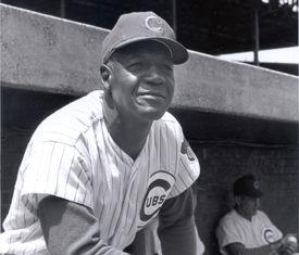 """John Jordan """"Buck"""" O'Neil (National Baseball Hall of Fame Library)"""