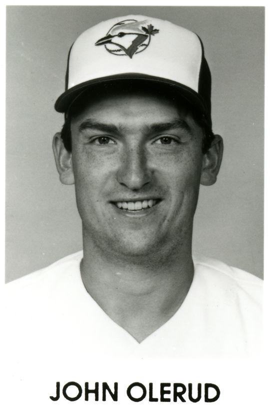 John Olerud of the Toronto Blue Jays. BL-3507.93 (National Baseball Hall of Fame Library)